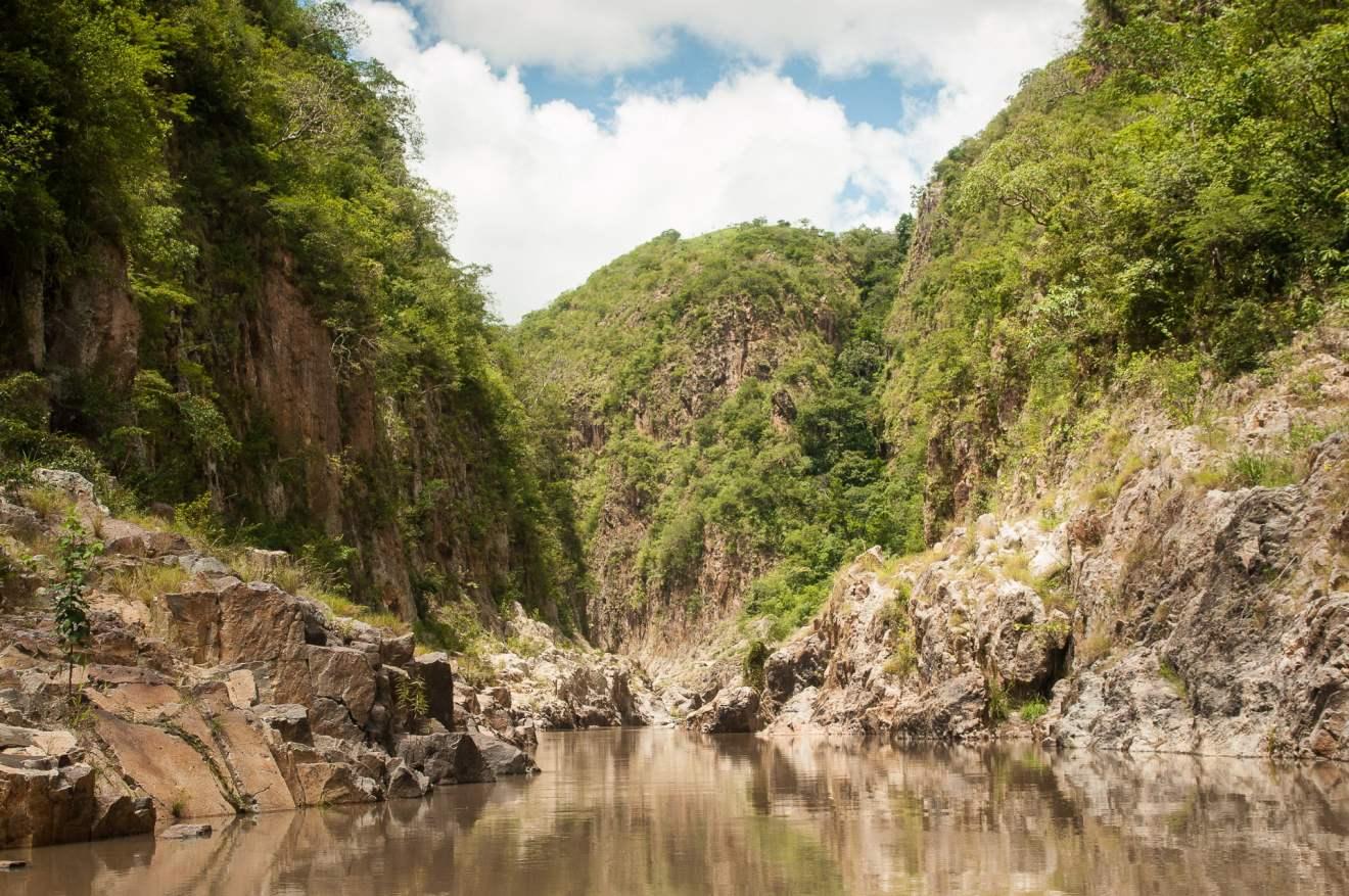 Canyon Somoto lancha