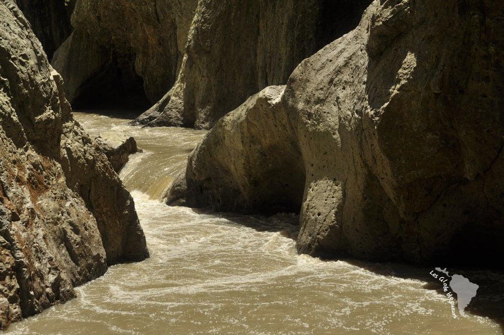 eau rapide canyon somoto