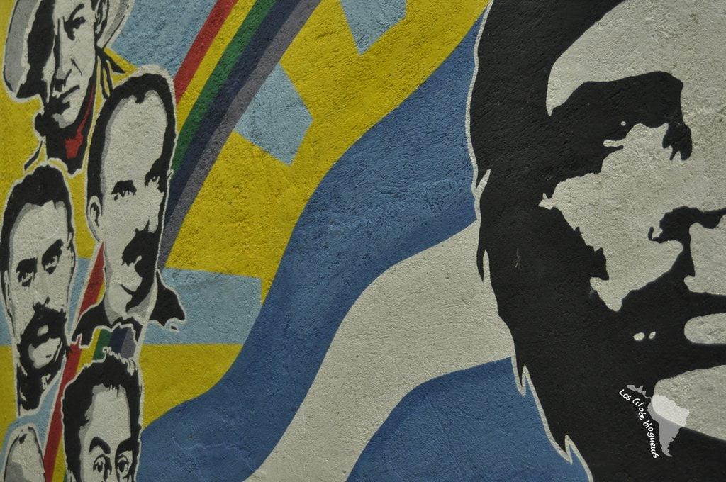 Murales révolutionnaires amérique latine