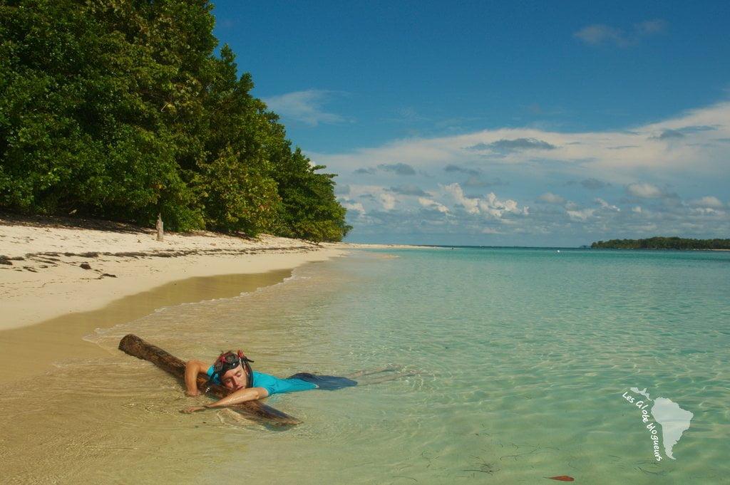 île déserte panama