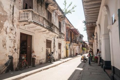 Ruelle à Carthagène