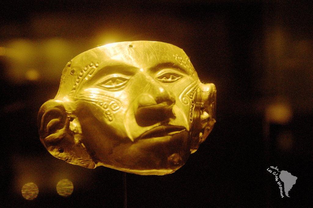 masque musée or bogota