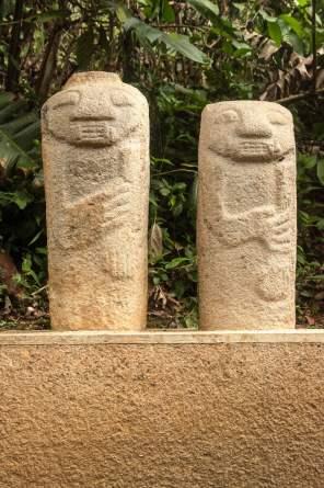 san agustin sculpture