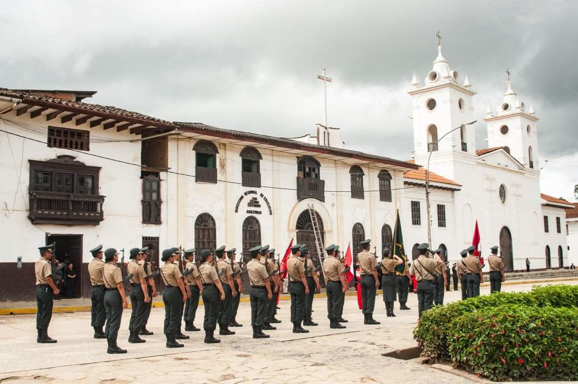 chachapoyas ceremonie patriotique
