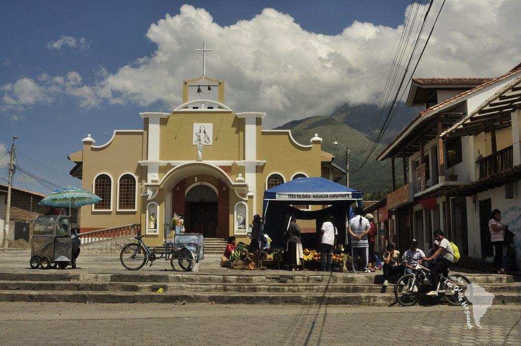 peguche église noël équateur