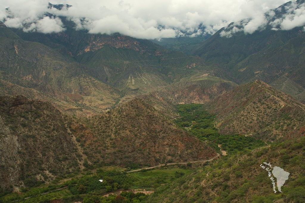 vue montagnes nord pérou