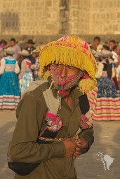 cabanaconde candelaria fiesta fête danse chapeau