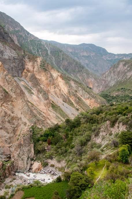 rivière panorama canyon de colca