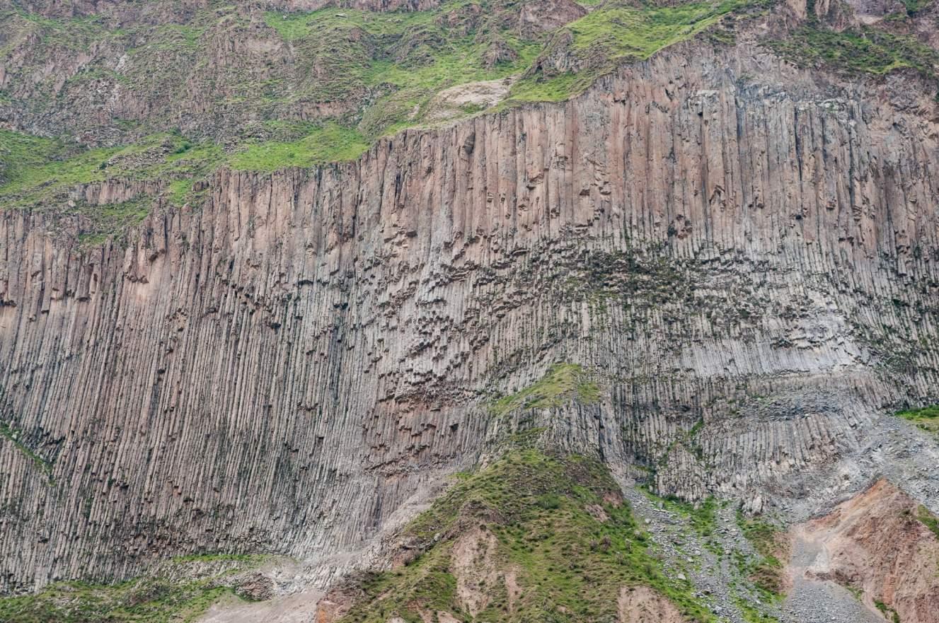 falaise du canyon de colca
