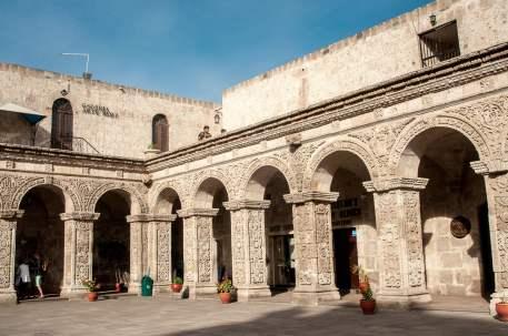 Arequipa ville blanche patrimoine