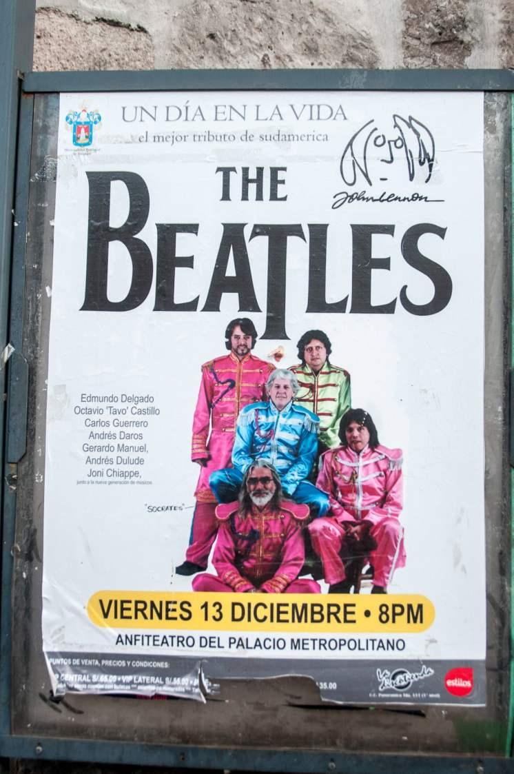 Les beatles version disco péruvien. Plus alternatif, y'a pas !