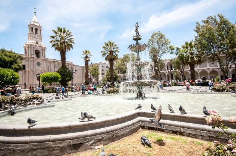 fontaine arequipa centre