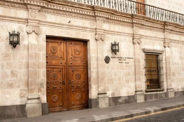 porte détail architecture arequipa