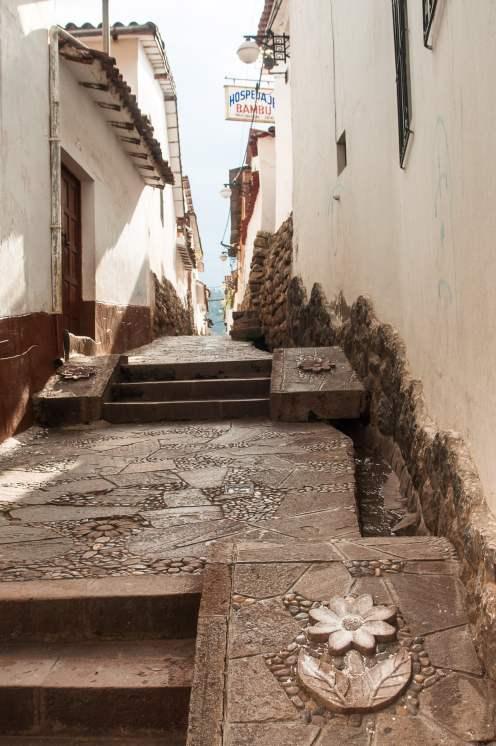 rue cusco escalier