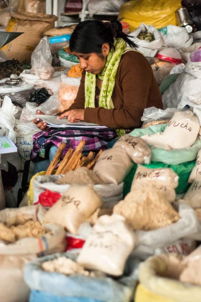 épices marché cusco