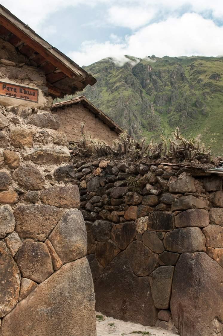 Murs Ollantaytambo, Pérou