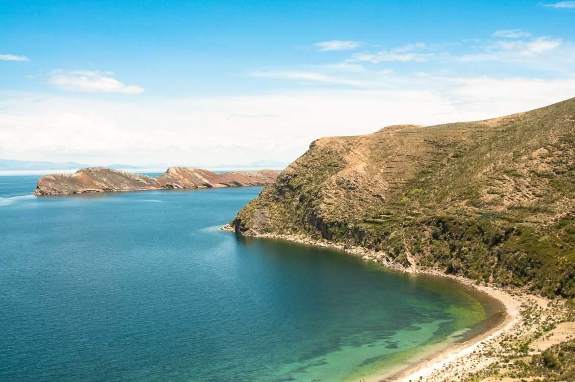 Isla del sol, sur le lac titicaca côté bolivie