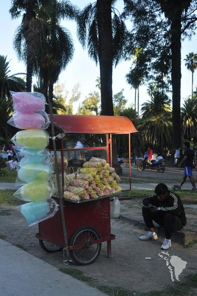 salta vendeur sucreries