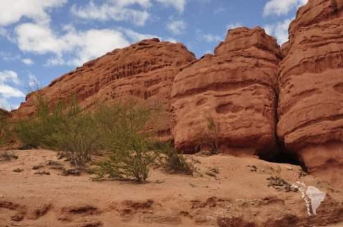 Quebrada rocher cafayate
