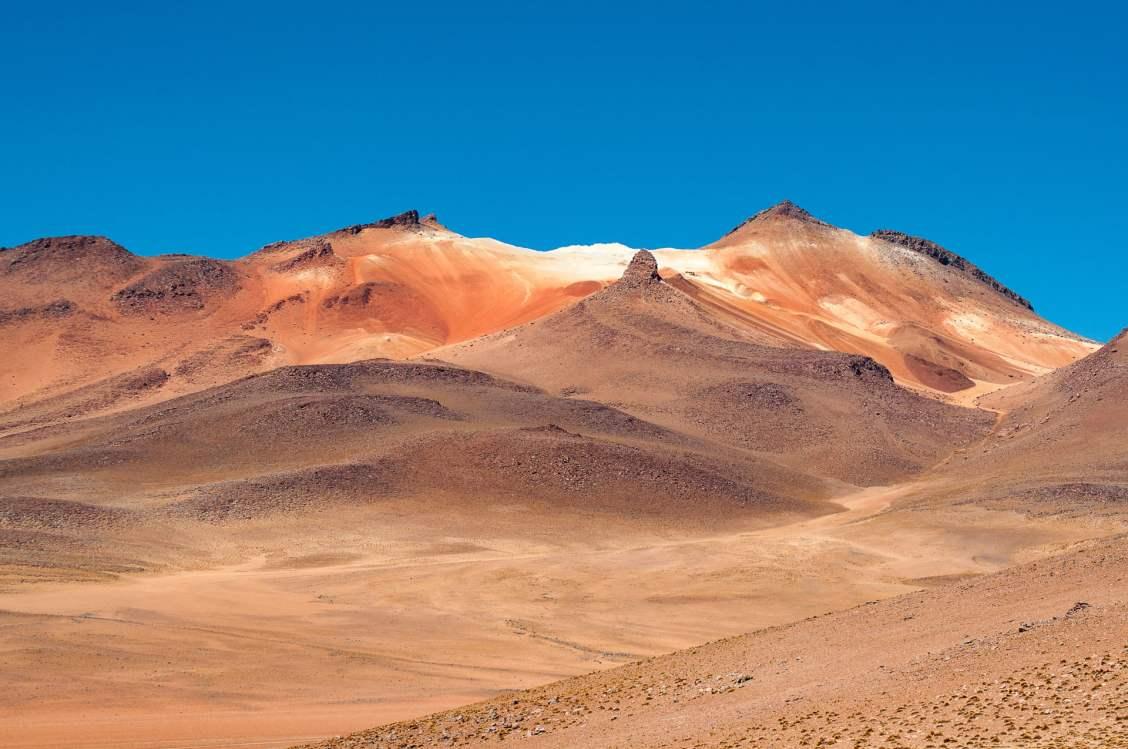 désert bolivien couleurs
