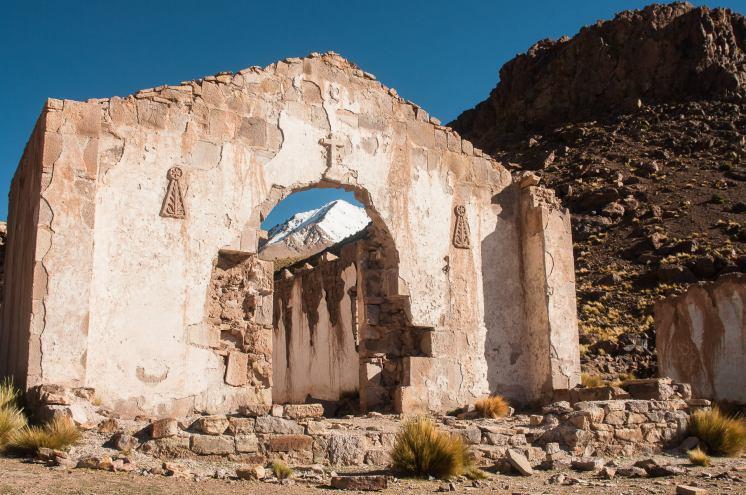 église abandonné sud lipez