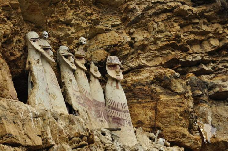 Sarcophages chachapoyas