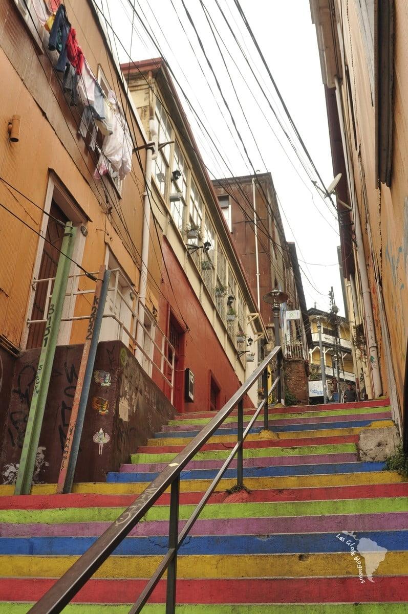 Valparaiso - escaliers