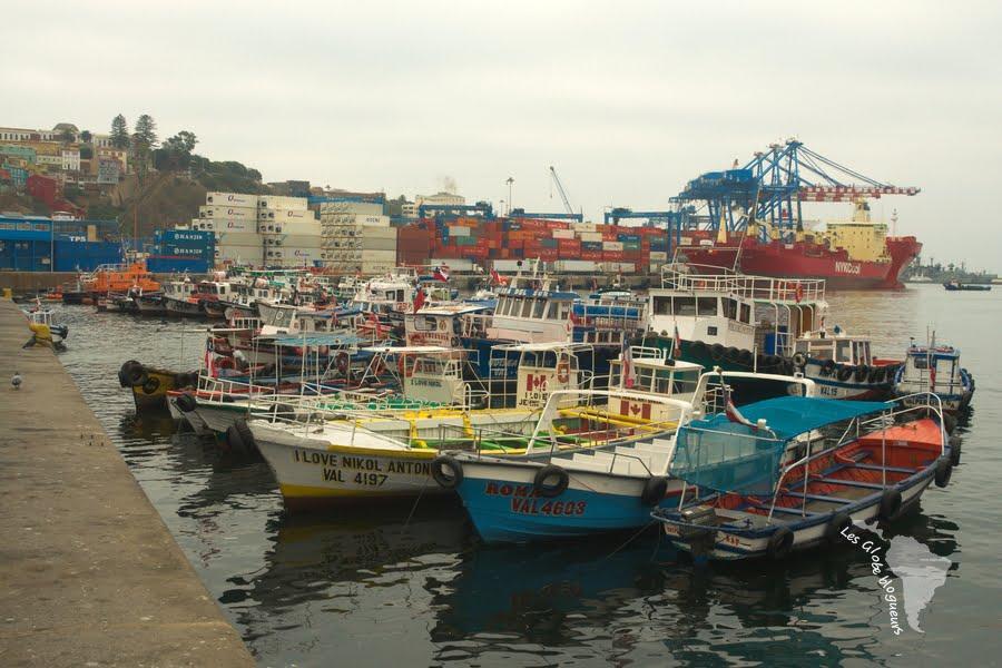 Port bateau valparaiso