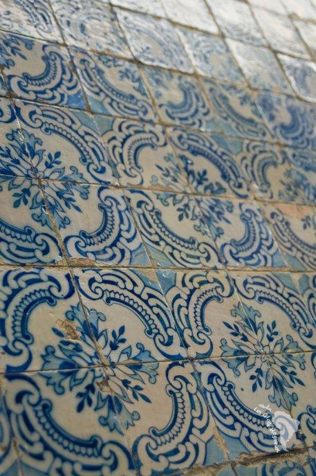 azulejos bleu