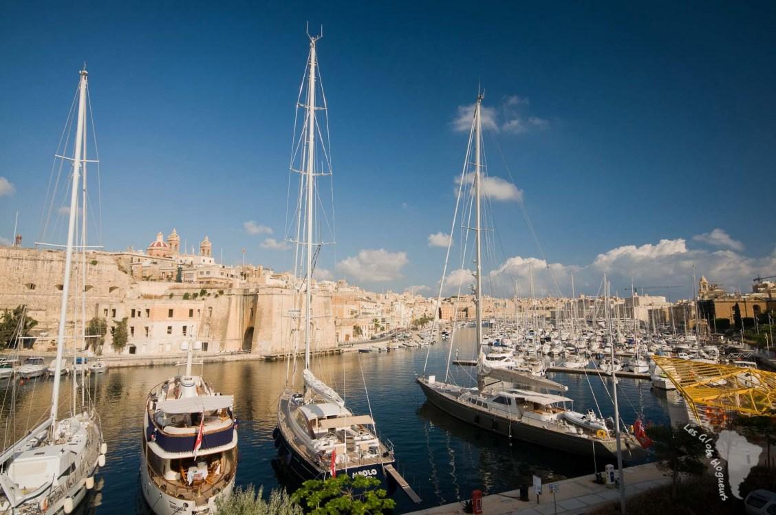 marina bateaux voilier malte