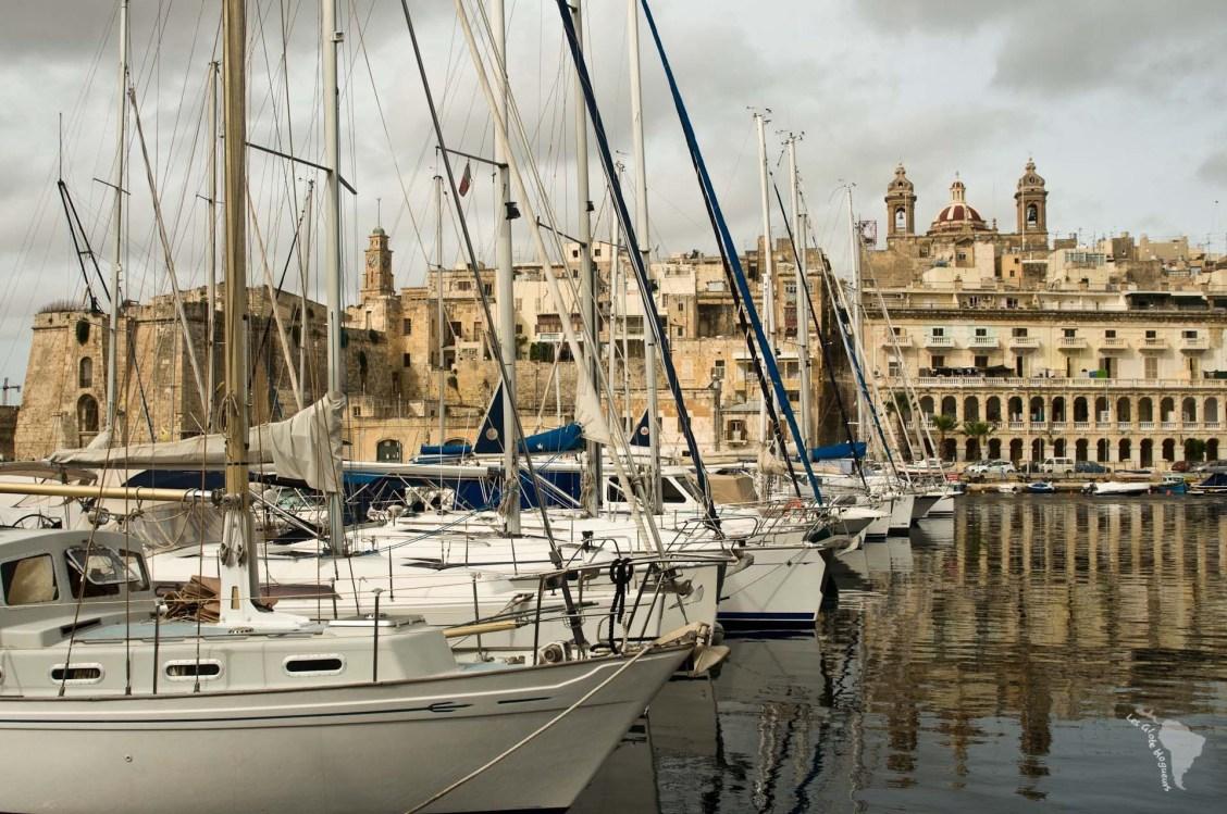 Marina Vittoriosa Malte bateaux