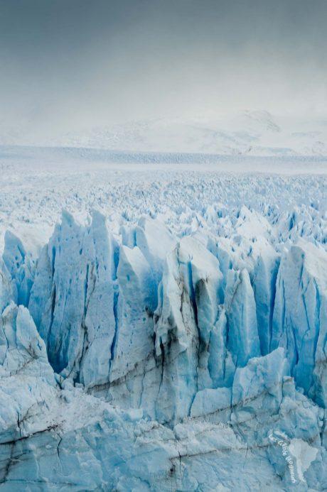 Perito moreno brume paysage glacier patagonie