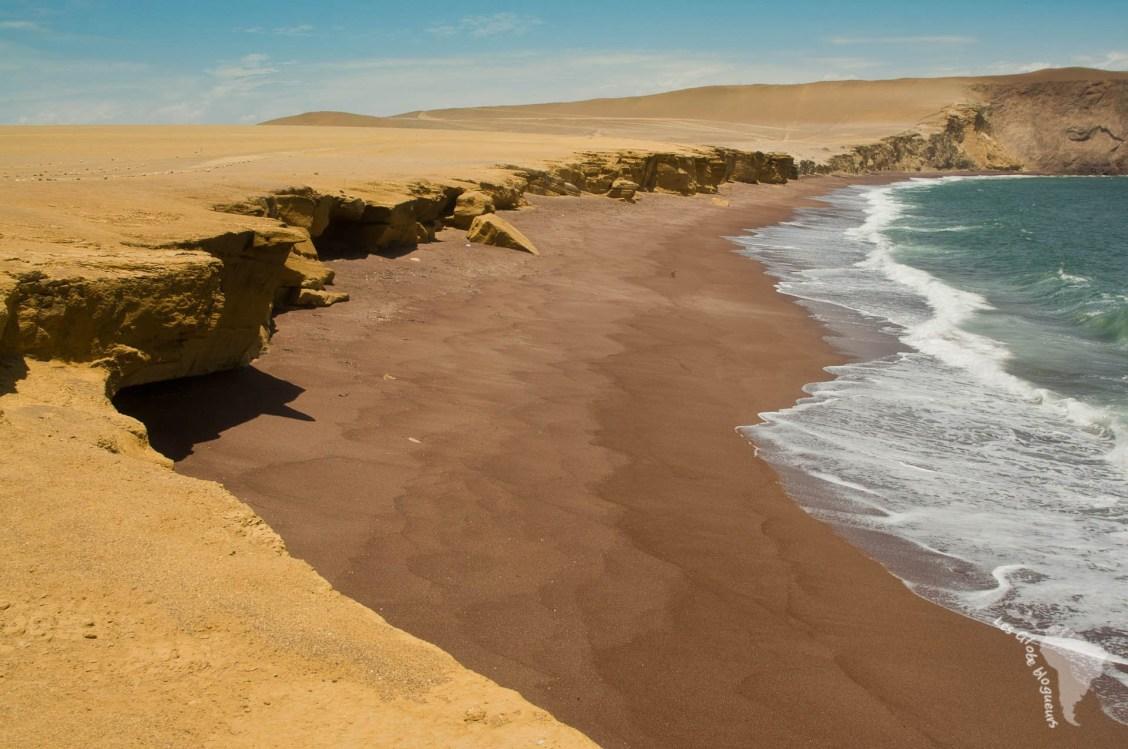 plage de paracas