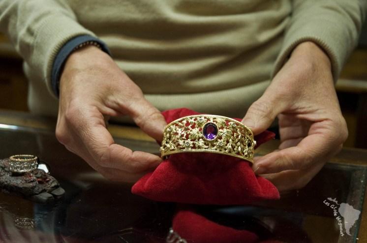 Bracelet original de l'atelier d'orfèvre