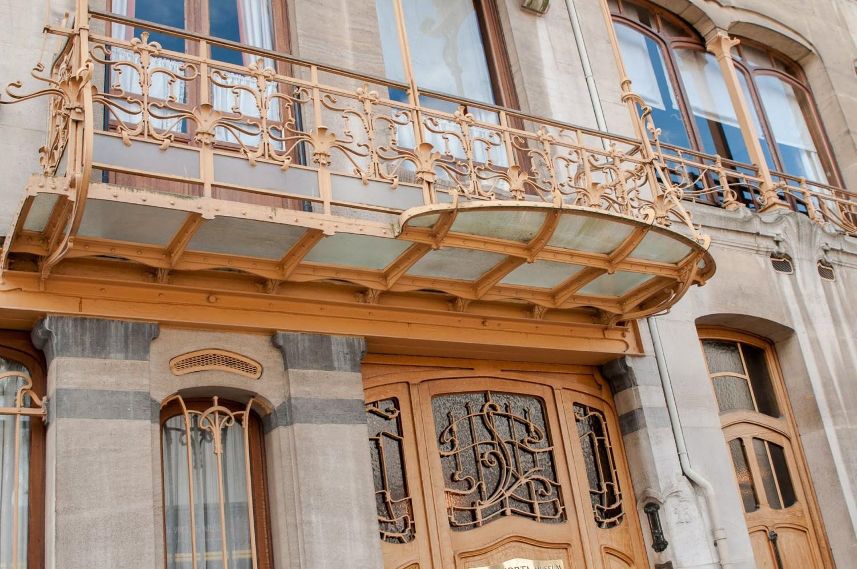 Balcon du musée Horta