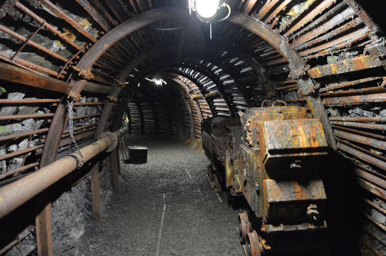 Gallerie de la mine de Blegny