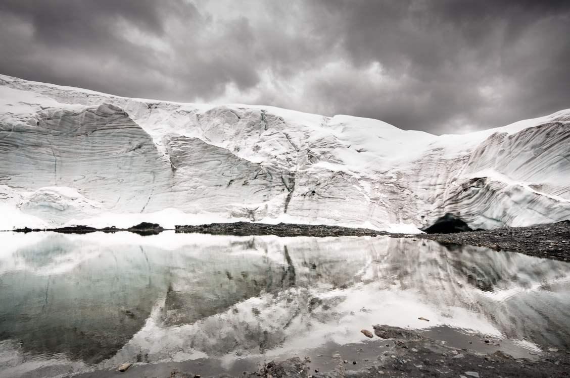 reflet glacier pastoruri