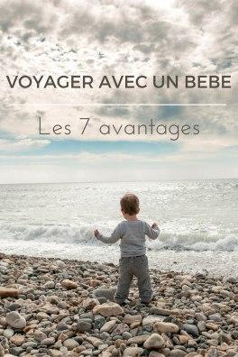 Les avantages de voyager avec un bébé