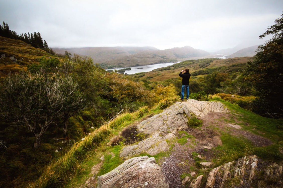 parc national killarney en Irlande