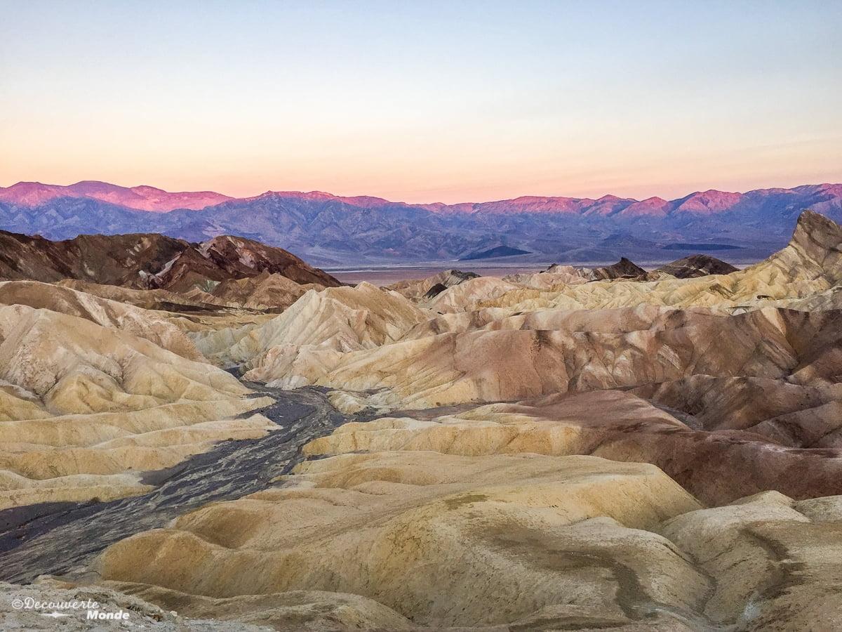 death valley - vallée de la mort - parc national