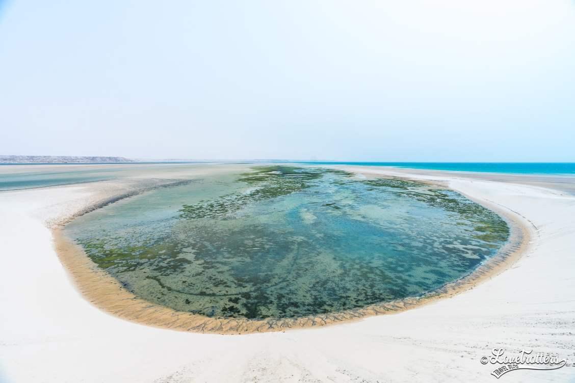 Les plus beaux paysages d'Afrique - parc naturel de Dakhla au Maroc