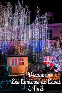 Les lumières de Lavalà Noël