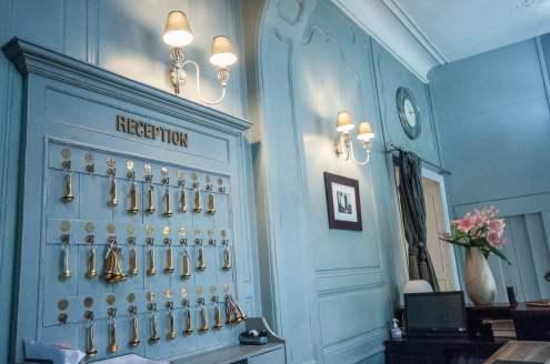 Réception de l'hôtel Perier du Bignon