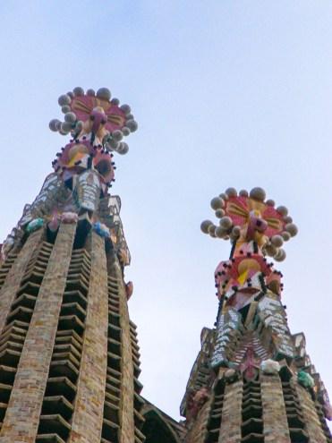 fleches sagrada familia barcelone