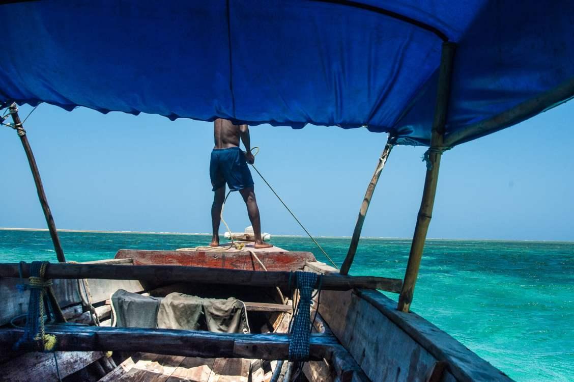 Pirogue en Tanzanie, attention au mal de mer !