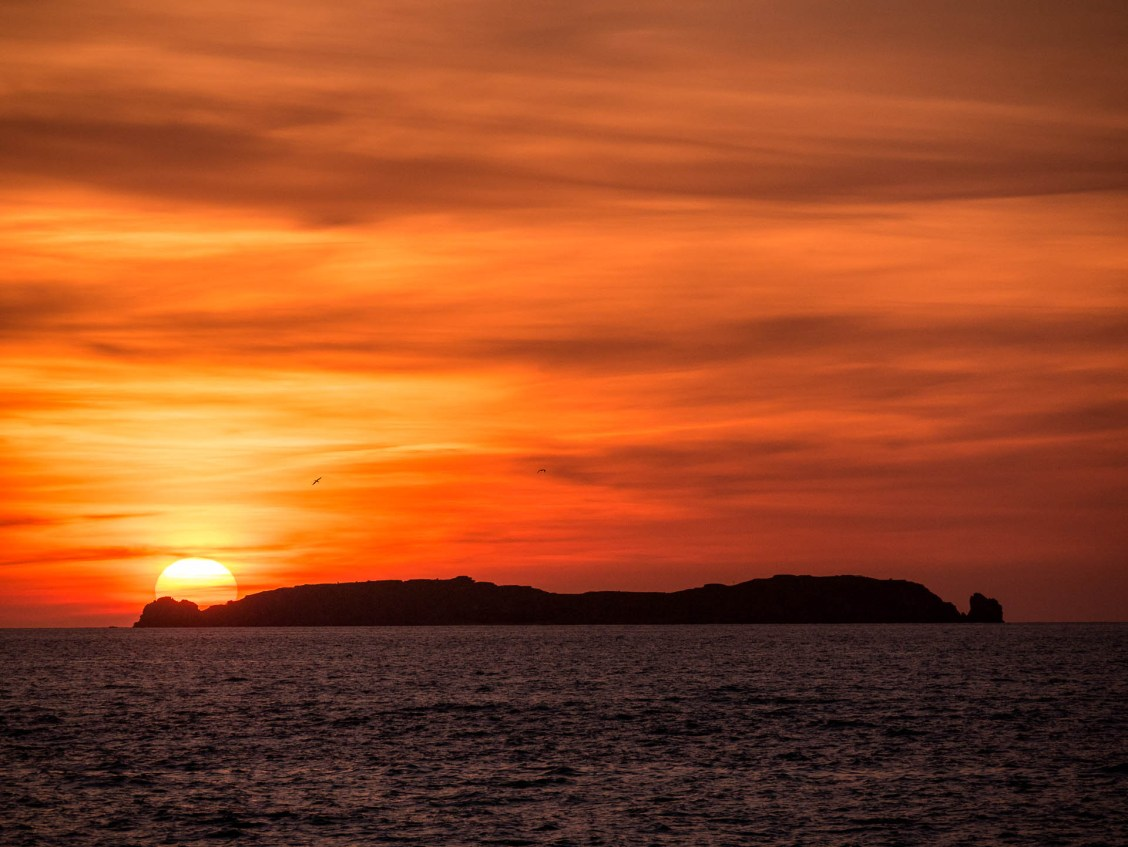 Saint malo coucher soleil