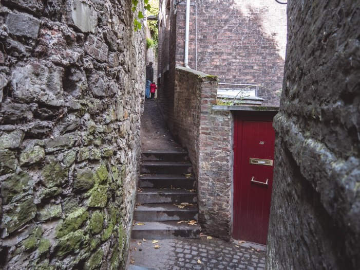 Liège balade coteaux passage porte