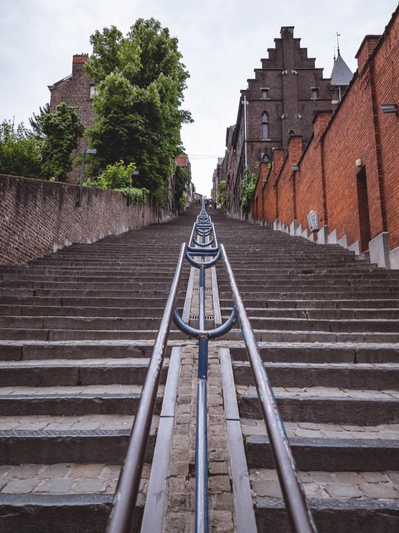 Liège grand escalier