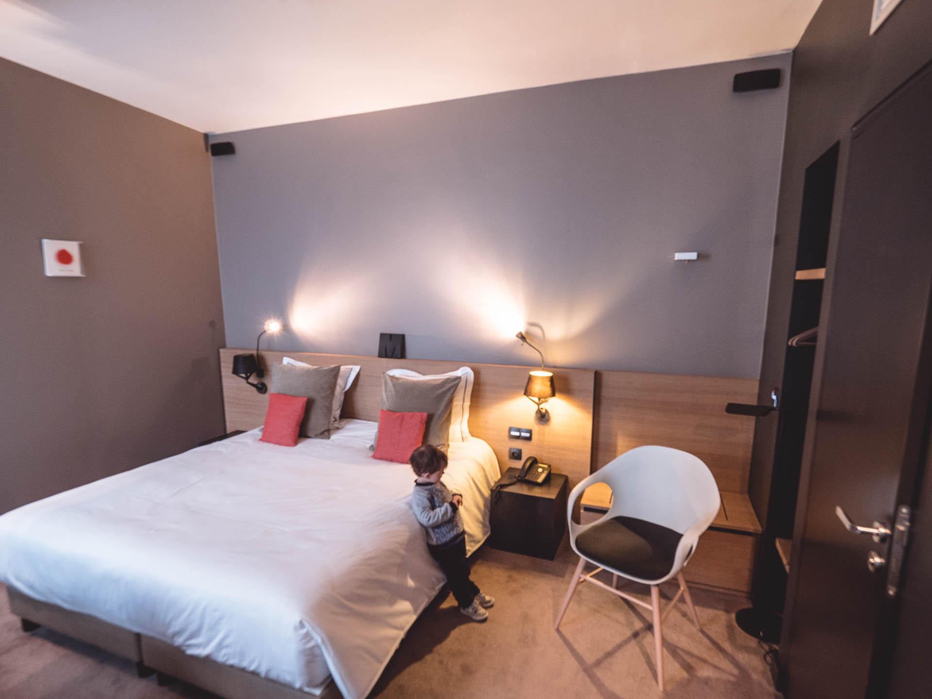 Liège hôtel neuvice chambre