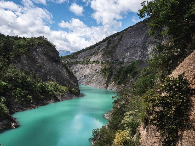 trieves lac monteynard